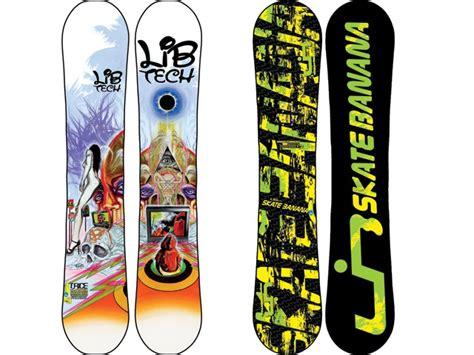 tavola snowboard banana snowboard lib tech 2011