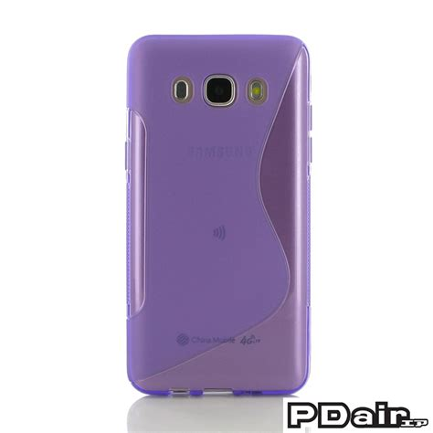 Casing Samsung Galaxy J5 2016 Softcase Bumper Motif Telephone Box samsung galaxy j5 2016 soft purple s shape pattern pdair