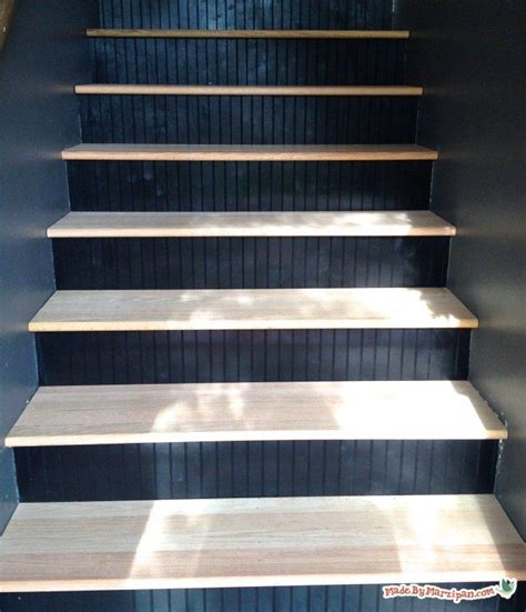 beadboard stairs get rid of the carpet and update your stairs with hardwood
