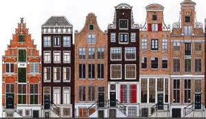 de herengracht de amsterdamse grachtengordel in kleur