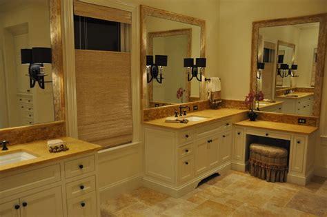 Bathroom Countertops Nashville Golden Travertine Project Traditional Bathroom