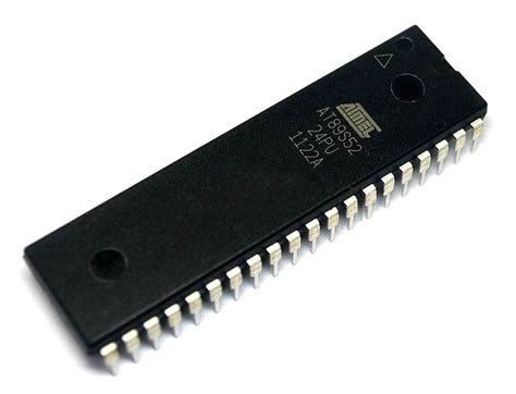 Ic Mikro Kontroller Atmel At89s51 atmel at89s52 8051 microcontroller ic architecutre pin out datasheet