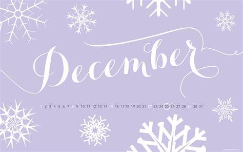 For December december wallpaper holidays and observances