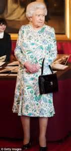 Flowery Dress Majesty the diaries majesty wears traditional floral to