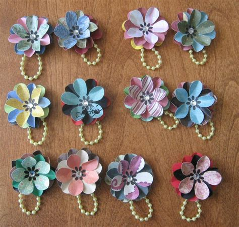 Floral Embellishments For Your Scrapbook Layouts by 26 Best Handmade Embellishments Images On