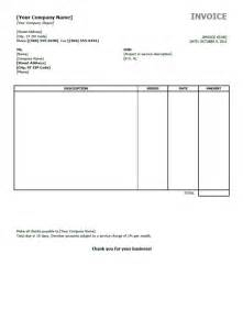 template for invoicing one must on business invoice templates
