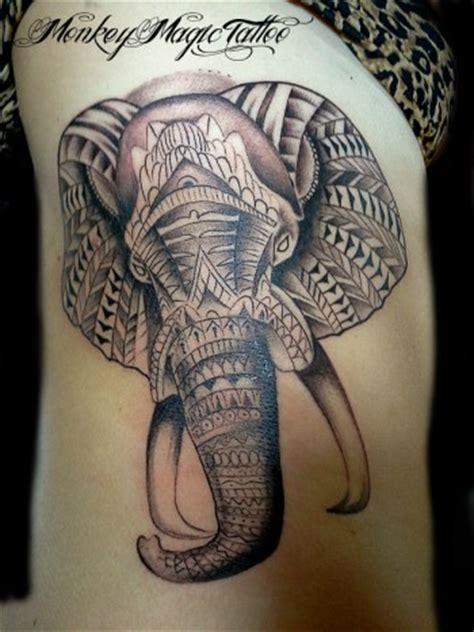 tattoo mandala elefante significado tatuaje de un elefante decorado con pinturas