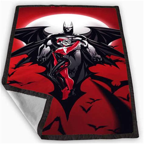 harley quinn bedding batman harley quinn blanket for kids from geboymujair com
