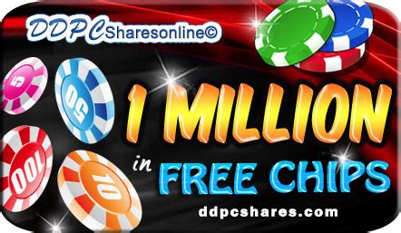 ddpcshares  million   doubledown chips