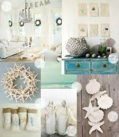 Beach Decorations For The Home by Forever Lovely Design A Coastal Christmas