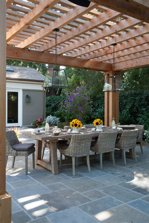 pergola designs patio traditional with garden furniture