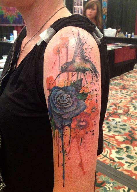 watercolor tattoo half sleeve creative watercolor tattoos sleeve yo