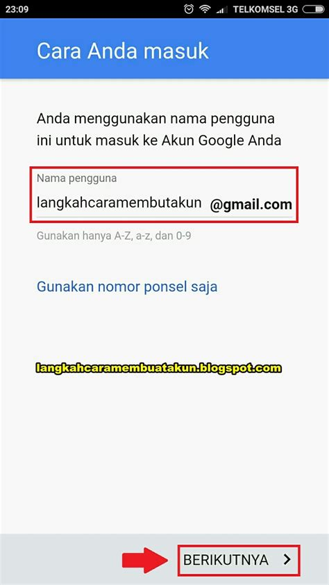 email google indonesia daftar email gmail indonesia gratis lewat hp android