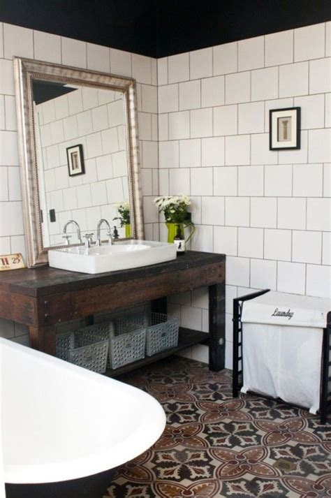 spanish tile bathroom ideas 6110 best cozy cottage baths images on pinterest