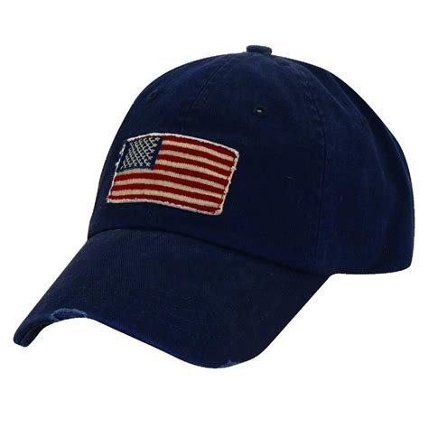 cotton american flag summer baseball hat pack of 3 by