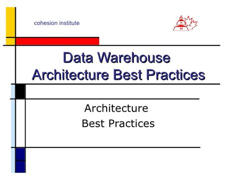 architecture practices data warehouse architecture best practices