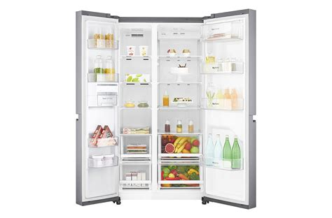 Lemari Es Lg Expresscool cool lg refrigerator side by door lg gc b247sluv 687 ltr india removal in within adjust door