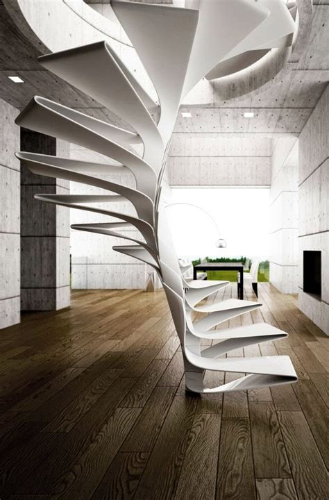 Helical Stairs Design Staircase Designs
