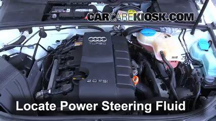 electric power steering 2002 audi a6 transmission control control de nivel de l 237 quido de direcci 243 n asistida de audi a4 quattro 2002 2008 2006 audi a4