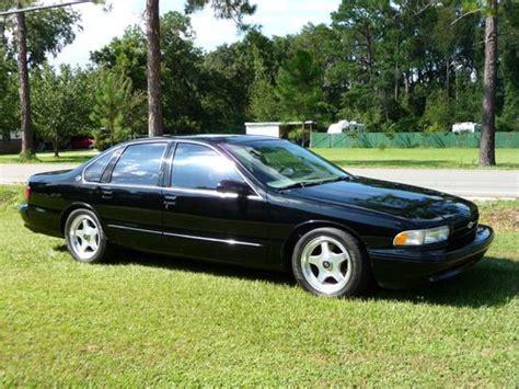 find used 1996 chevy impala ss black v8 lt1 4 door sedan