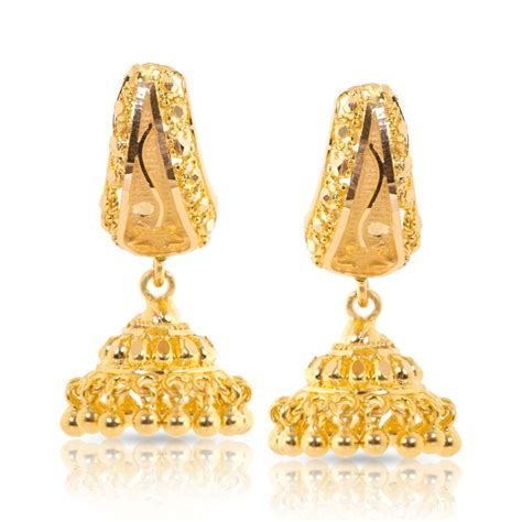 jhumka design images earrings designs in gold jhumka already4fternoon org