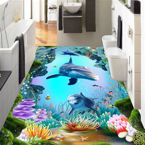 bedroom world free delivery code free shipping hd 3d underwater world cave tropical fish