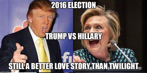 funniest donald trump  hillary clinton memes