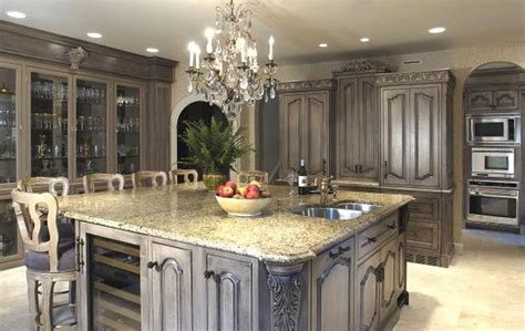 Antique Grey Kitchen Cabinets by Luxury Kitchen Furniture Plans Iroonie