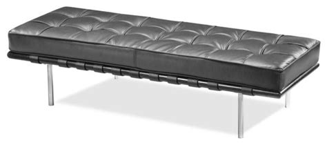 leather bench cushion the furniture leather 39ibiza double bench39 with