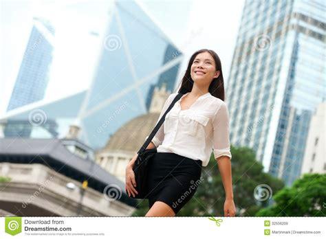 walking business asian business walking outside in hong kong stock image image 32556209