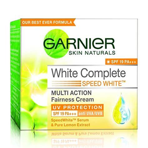 Pelembab Garnier White Spf compare buy garnier white complete spf17 40g in india at best price healthgenie in