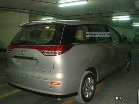 2011 toyota previa 8 seater car photo and specs