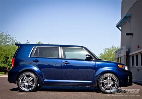 scion xb accessories 2012 2012 scion xb with 20 quot mkw m105 in chrome wheels wheel