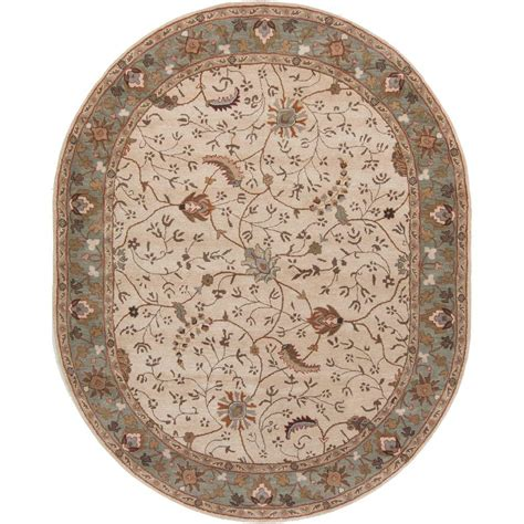 artistic weavers elam beige 6 ft x 9 ft oval indoor area