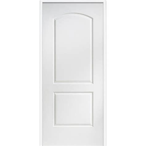 Carrara Interior Door Mmi Door 32 In X 80 In Smooth Carrara Right Primed Mdf 20 Min House To Garage