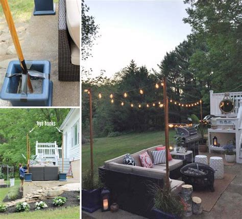 diy backyard lighting 15 diy backyard and patio lighting projects amazing diy