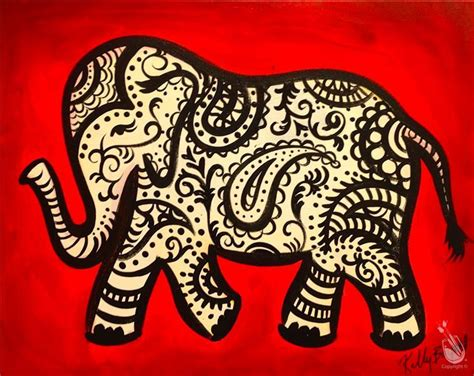 Painting With A Twist Gift Card - paisley elephant saturday august 27 2016 painting with a twist
