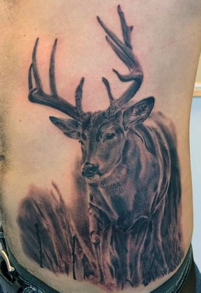 cool deer tattoos cool simple golfian