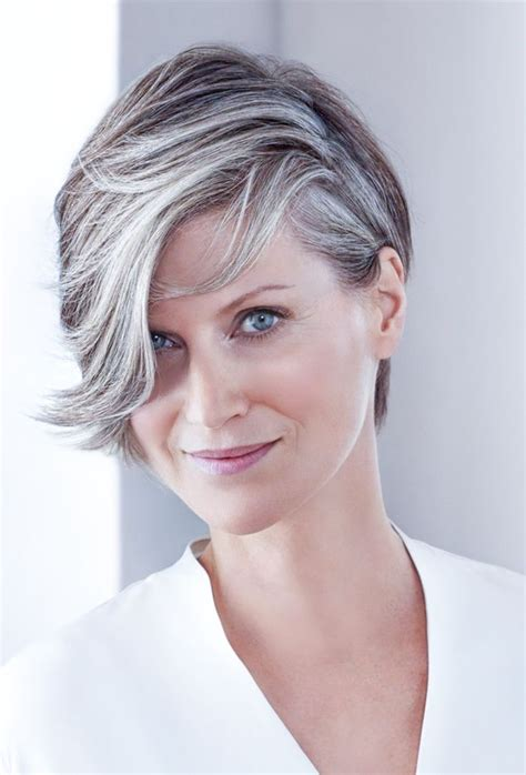 hairstyles gray hair 1397 best gorgeous gray hair images on pinterest silver