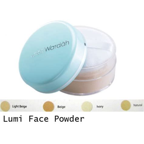 Bedak Wardah Luminous Powder review dan harga wardah luminous powder penting