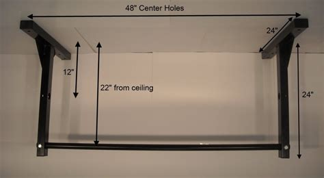 Diy Ceiling Mounted Pull Up Bar by Ceiling Mounted Pull Up Bar Diy Winda 7 Furniture