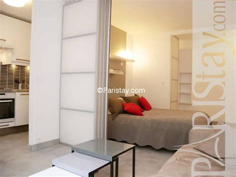 bedroom in living room 1 bedroom apartment vacation term renting quartier latin