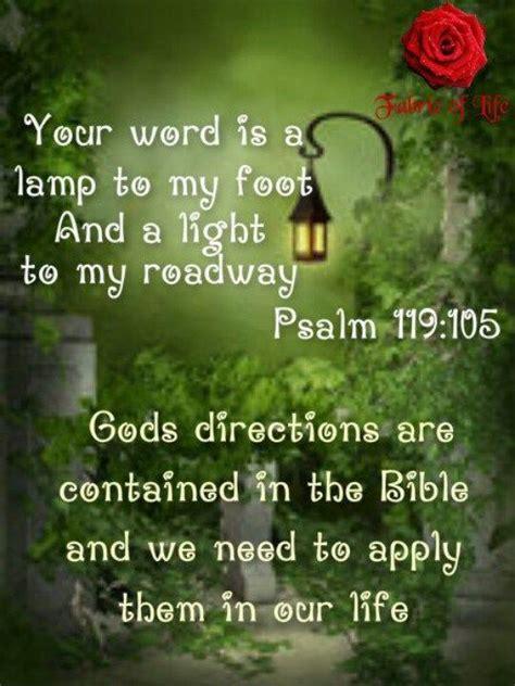 thy word is a l unto my meaning die besten 25 psalm 119 105 ideen auf