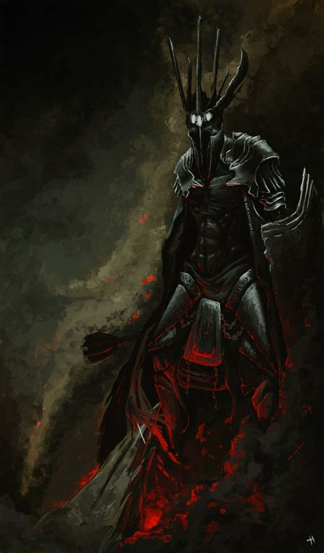 morgoth and fingolfin by mentosik8 on deviantart