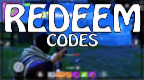 redeem fortnite mobile codes