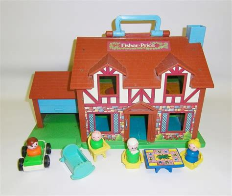 fisher price house vintage fisher price house vintage little people playset toy
