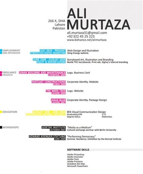 designspiration resume 17 best images about graphic creative on pinterest
