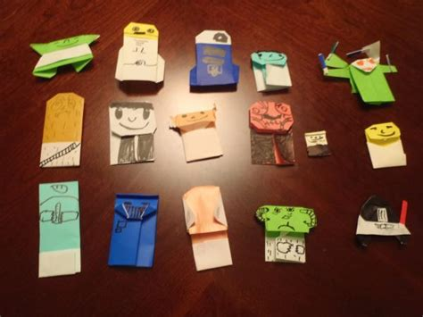 Origami Wars Books - my oragami wars collection origami yoda
