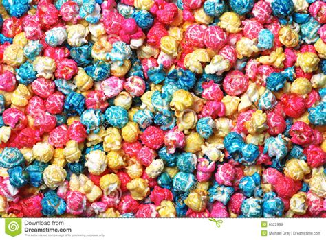 colorful popcorn colorful popcorn a background royalty free