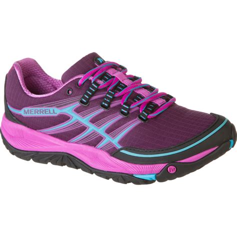 merrell trail running shoes womens merrell allout trail running shoe s